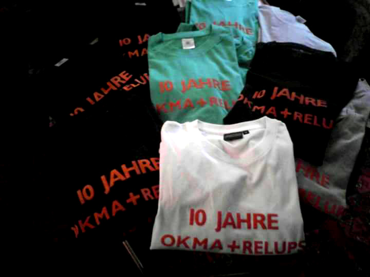 okma relups 10jahre shirts